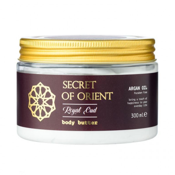 Secret of Orient Bodybutter 300ml - Royal Oud